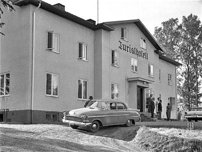 51. Turisthotellet i Töcksfors på 1950-talet. Foto : Fritz Arenö / Årjängs kommuns bildbank
