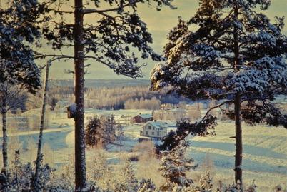 59. Vy över Älverudsområdet i slutet av 1950-talet. Foto : Uno Brander