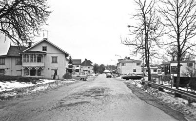 87. Sveavägen med Handelsbolaget på 1970-talet. Foto : Hugo Hassel