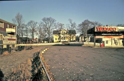 88. Nygård i centrala Töcksfors på 1970-talet. Foto : Bengt Erlandsson
