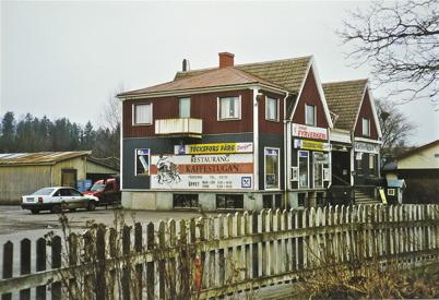 90. Centrumhuset före renoveringen på 1970-talet. Foto : Walter Christofferson