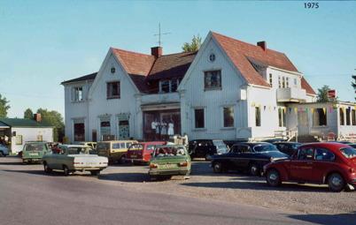 91. Söndagsmöte vid gamla centrumhuset 1975. Foto : Bengt Erlandsson