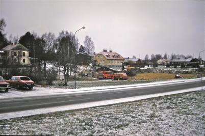 101. Nya vårdcentralen byggs 1985-1986. Foto : Bengt Erlandsson