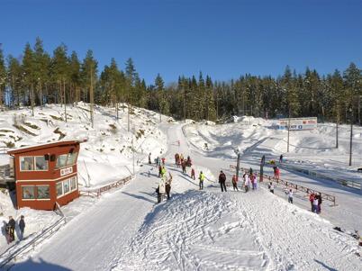 115. Töcksfors fick ny skidstadion, Kölen Sportcenter 2010. Foto : Lars Brander