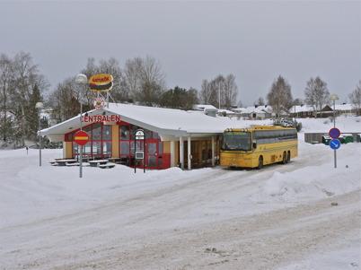 126. Töcksfors Busscentral - bild från 2010. Foto : Lars Brander