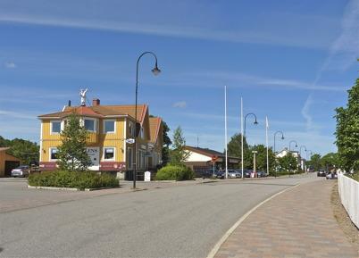130. Centrumhuset vid Sveavägen i Töcksfors 2010. Foto : Lars Brander