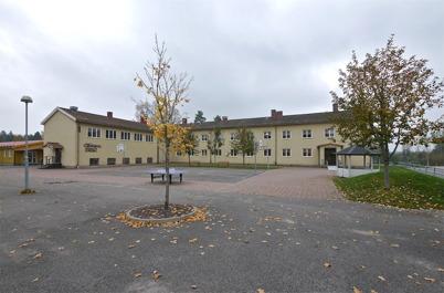 138. Töcksfors skola 2010, låg- mellan- och högstadieskola. Foto : Lars Brander