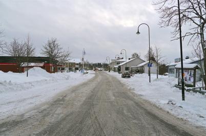 146. Sveavägen genom Töcksfors 2011. Foto : Lars Brander