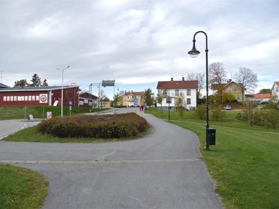 147. Töcksfors gamla centrum vid Nygård. Bild från 2011. Foto : Lars Brander