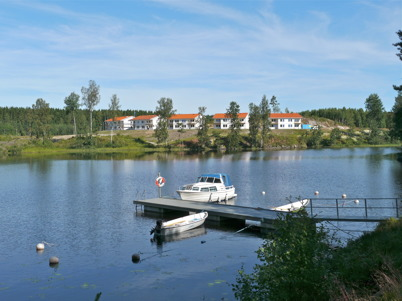 153. Västkuststugan - Första husen står klara på nya bostadsområdet Prästnäset - 2012. Foto : Lars Brander