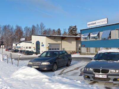 156. Företaget wermland mechanics - ett av många exempel på framgångsrik industrietablering i Töcksfors 2013. Foto : Lars Brander