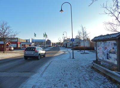 160. Sveavägen genom Töcksfors 2012. Foto : Lars Brander