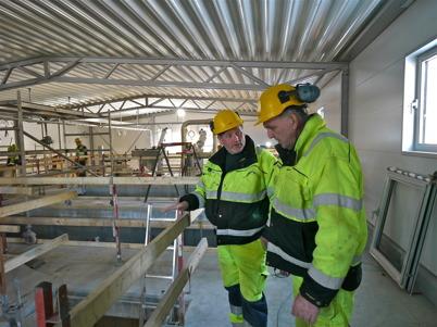 162. Årjängs kommun byggde ut avloppsreningsverket 2012 - 2013, för att klara en framtida befolkningsökning. Foto : Lars Brander