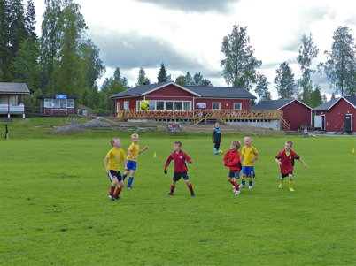 166. Årjängs kommun och Töcksfors IF byggde ny klubbstuga vid Hagavallen 2013. Foto : Lars Brander