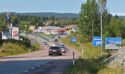 167. E18 genom Töcksfors 2013. Foto : Lars Brander