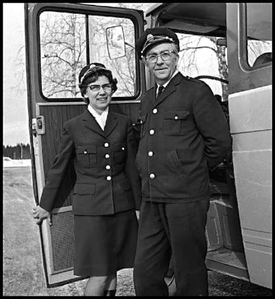 Lilly och John Brusgård / foto : Fritz Arenö - Årjängs kommuns bildbank