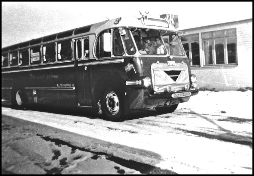 Scaniabuss för 36 passagerare