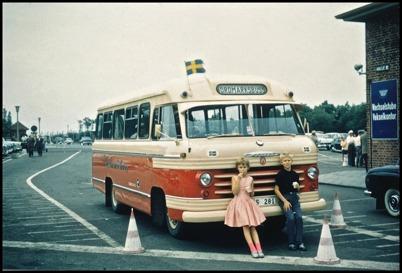 Volvo L 42 årsmodell 1959 - 25 passagerare - köpt ny 1959 för 54.300:-