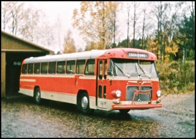Volvo B 715 årsmodell 1965 - 47 passagerare - köpt ny 1965 för 126.000:-
