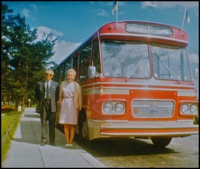 Volvo B54 årsmodell 1967 - 36 passagerare - köpt ny 1967 för 102.300:-