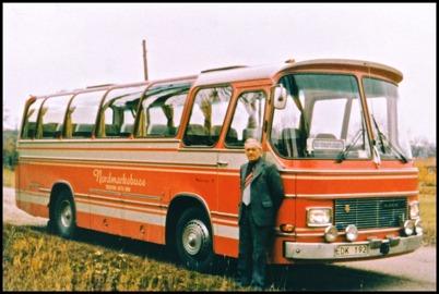 Mercedes N7 årsmodell 1971 - 33 passagerare - köpt ny 1972 för 203.796:-