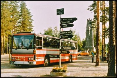 Scania CR 145 turist årsmodell 1973 - 53 passagerare - köpt ny 1973 för 208.000:-