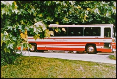 Scania CR 145 årsmodell 1977 - 47 passagerare - köpt ny 1977 för 520.000:-