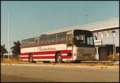 Scania K 112 Ajokki 6000 årsmodell 1983 - 50 passagerare - köpt ny 1983 för 1.044.100:-