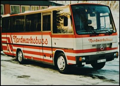 Mercedes 1120 Auverter årsmodell 1989 - 32 passagerare - köpt ny 1989 för 1.142.093:-