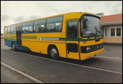 Mercedes 0 303 årsmodell 1992 - 53 passagerare - köpt ny 1992 för 1.743.750:-