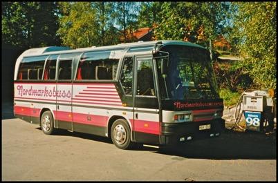 Neoplan N 208 årsmodell 1991 - 33 passagerare - köpt begagnad 1993 för 850.000:-