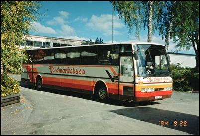 Scania Ajokki Viktor årsmodell 1989 - 50 passagerare - köpt begagnad 1994 för 590.000:-