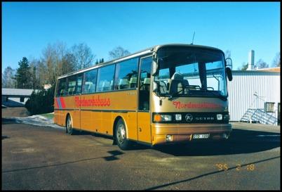 Setra S 215 HMRI årsmodell 1987 - 54 passagerare - köpt begagnad 1994 för 550.000:-