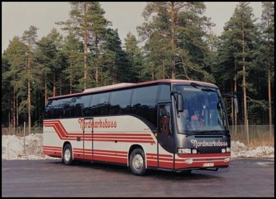 Scania Delta 113 årsmodell 1995 - 50 passagerare - köpt ny 1995 för 2.580.000:-