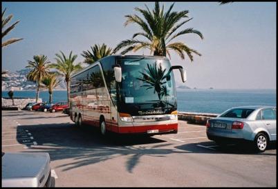 Setra 415 HDH årsmodell 2002 - 52 passagerare - köpt ny i december 2001 för 3.150.000:-