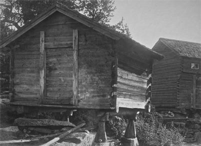 Visthusbodar i Östergård.