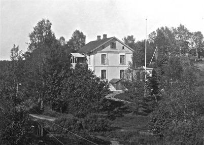 Läkarebostaden Tomtebo - 1923.