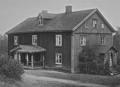 Verket Töcksmark, huvudbyggnaden - 1923.