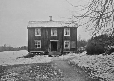 Lanthandel vid Verket i Töcksfors 1848. Bilden är från - 1923.