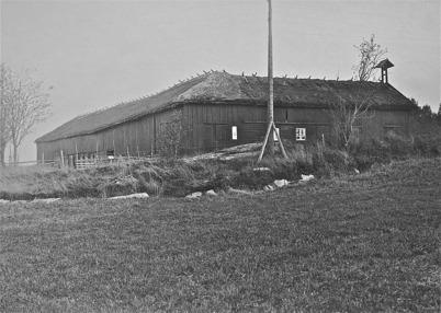 Ladugården vid Verket - 1925.
