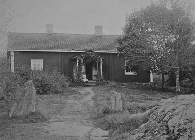 Töcksmarks prästgård före 1830.