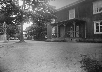 Skolan och Sockenstugan, Töcksmark. Foto: J B Söderblom