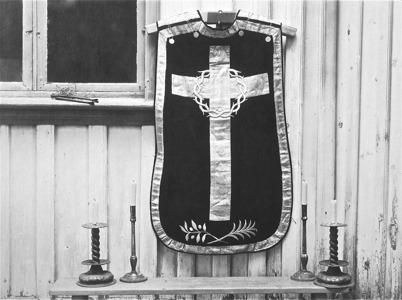 Töcksmarks kyrka, mässhake och ljusstakar - 1923.