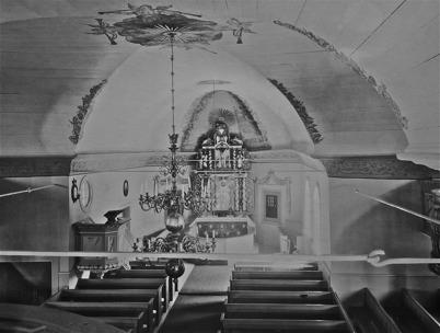 Töcksmarks kyrka efter 1925.