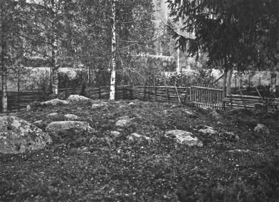 Orörd forngrav, Stommen Töcksmark - 1923.