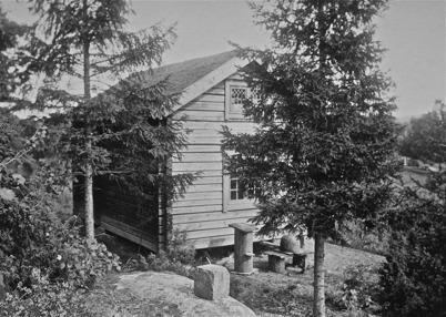 Nordmarksstugan - Lillstugan, Töcksfors