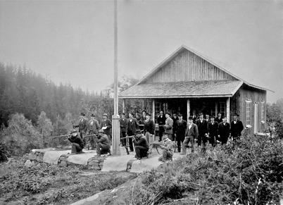Töcksmarks skyttegille - 1903
