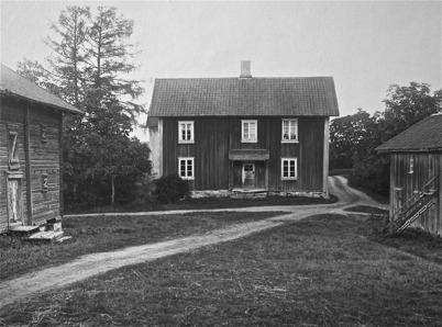Rönningen i Töcksmark ( gamla huset ) -  1923.