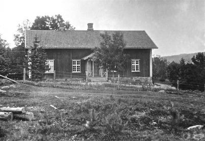 Töresbyns skola Töcksmark, före ombyggnaden 1924.