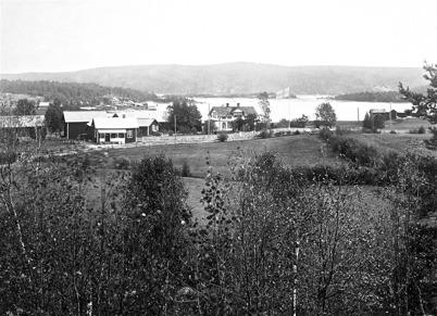 Vy över Bön, Östervallskog.